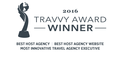 2016 Travvy Award Winner